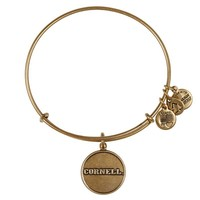 Alex and Ani Cornell University Logo Charm Bangle - Russian Gold