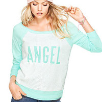 Off-the-shoulder Sequin Sweatshirt - Victoria's Secret