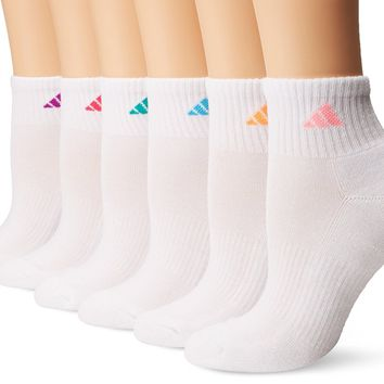 adidas Women's Quarter Sock (6-Pack)