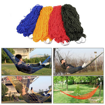 Portable Outdoor Camping Hammock - Nylon