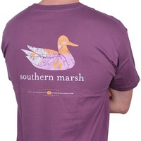 Authentic Louisiana Heritage Tee in Iris by Southern Marsh