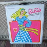Barbie Doll Case , 1975 Fashion Doll Case for Barbie and Friends , Vintage Barbie Case , Barbie Trunk , Vintage Barbie Doll Trunk , 70s