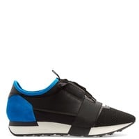 Race Runner panelled low-top trainers | Balenciaga | MATCHESFASHION.COM US