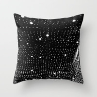 night lights Throw Pillow by Marianna Tankelevich
