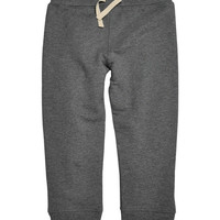 Charcoal Heather French Terry Organic Sweatpants - Infant, Toddler & Boys