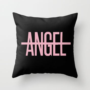 Beyonce - No Angel Throw Pillow by Shaina | Society6