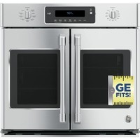 """GE Café™ Series 30"""" Built-In French-Door Single Convection Wall Oven 