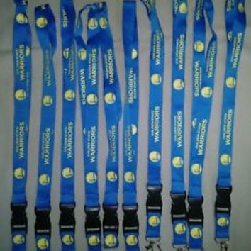 NBA Breakaway Lanyard Keychain Wristlet Click Pens Golden State Warriors Curry