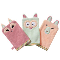 100% Organic Bath Mitt - Woodland Collection