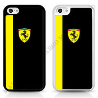 Car Scuderia Ferrari Cover Case for iPhone iPod Samsung Yellow and Black