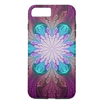 beautiful floral abstract case