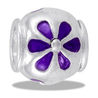 DaVinci Beads Purple Flower Jewelry
