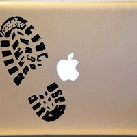Shoe Print on Macbook Vinyl Decal Sticker for Apple Laptop