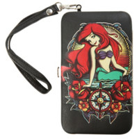 The Little Mermaid Tattoo iPhone 4/4S/5/5S Hinge Wallet