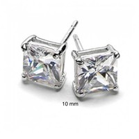 Bling Jewelry Sublime Square Studs