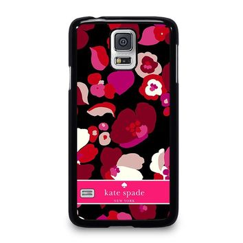 KATE SPADE NEW YORK FLORAL Samsung Galaxy S5 Case Cover