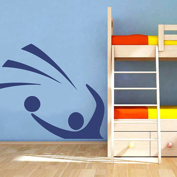 Volleyball Athlete Vinyl Decals Wall Sticker Art Design Living Room Modern Bedroom Nice Picture Home Decor Hall  Interior ki781