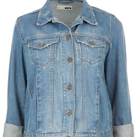 MOTO Vintage Denim Jacket - Jackets & Coats - Clothing - Topshop
