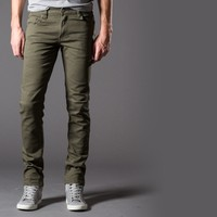 [Polychrom] Skinny Jeans in Pete Moss
