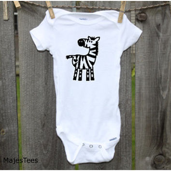 Zebra Onesuits®, Safari Baby Shower