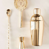 Metallic Bar Cocktail Shaker Set | Urban Outfitters