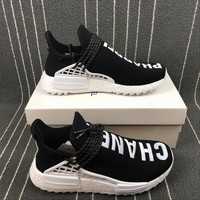 [ FREE SHIPPING ] ADIDAS HUMAN RACE NMD x CHANEL  RUNNING SHOES