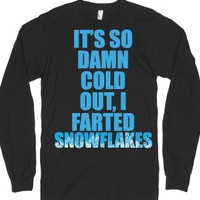 Black T-Shirt | Funny Winter Shirts