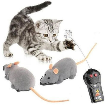 Electric RC Mouse Remote Control Mouse Vivid Small Fake Animal Trick Toy Electric Animal Fun Toys Joke Toys Birthday Gift