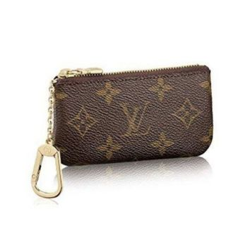 High Quality Louis Vuitton Monogram Canvas Key Pouch