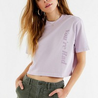 Cooke Collective Rad Cropped Tee | Urban Outfitters