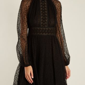 Floral macramé-lace dress | Giambattista Valli | MATCHESFASHION.COM US