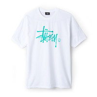 Stussy: Water Stock Shirt - White