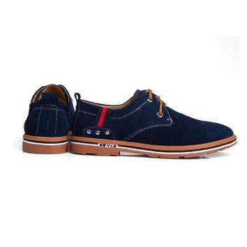 Men's Suede Casual Oxford Shoes