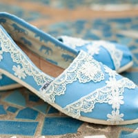 Custom Blue Wedding Tomsmany colors available by TheCrystalSlipper