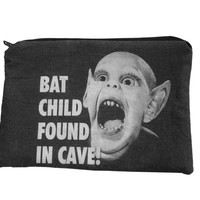 Bat Boy Zipper Pouch by oliviafrankenstein on Etsy