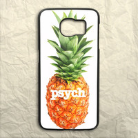Tv Series Psych Pineapple Samsung Galaxy S6 Case