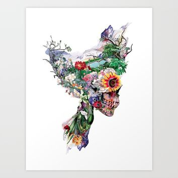 Don't Kill The Nature Art Print by RIZA PEKER
