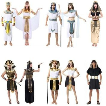 Egyptian Pharaoh Cleopatra costumes - Performance & Stage Wear - Free Shipping