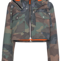 Heron Preston Camouflage Cropped Jacket - Farfetch