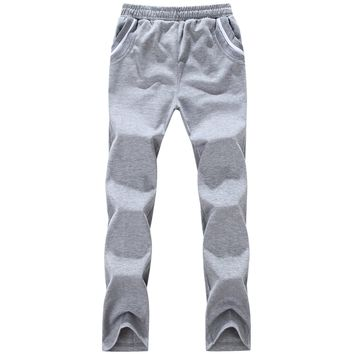 Casual Cotton Stylish Sports Pants [290340372509]