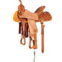 NRS Competitor's Series Lily Flower Antique Barrel Saddle