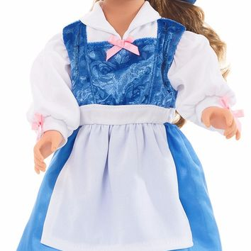 Little Adventures Beauty Doll Day Dress with Bow