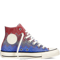 Converse - Converse X Missoni Chuck Taylor All Star Washed Canvas - Ocean - Hi Top