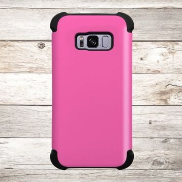 Solid Color Hot Pink for Apple iPhone, Samsung Galaxy, and Google Pixel