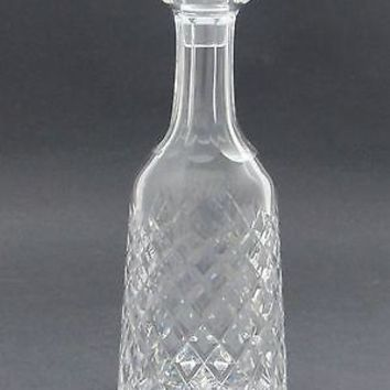 Signed Waterford glass Hand Cut  Boyne  decanter Irish Crystal