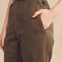 Vintage Frayed Cropped Surplus Pant | Urban Outfitters