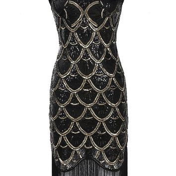 Flapper Short Prom Party Dress