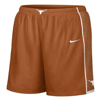 Nike Texas Longhorns Burnt Orange Youth Replica On Court Basketball Shorts