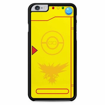 Pokemongo Team Instinct Pokedex iPhone 6 Plus / 6S Plus Case