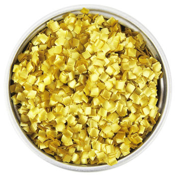 Gold Square Edible Glitter